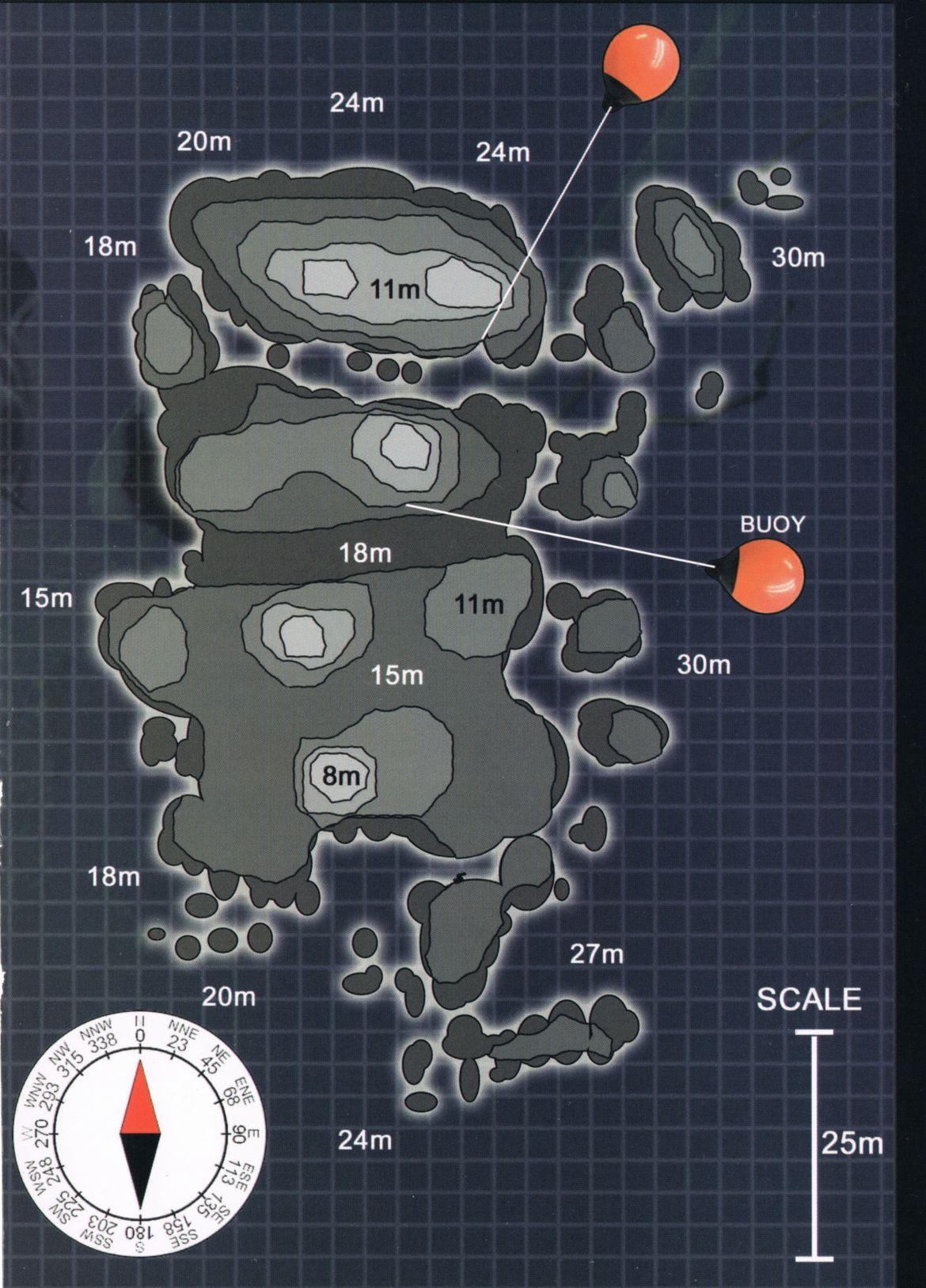 Hin Wong Pinnacle Map