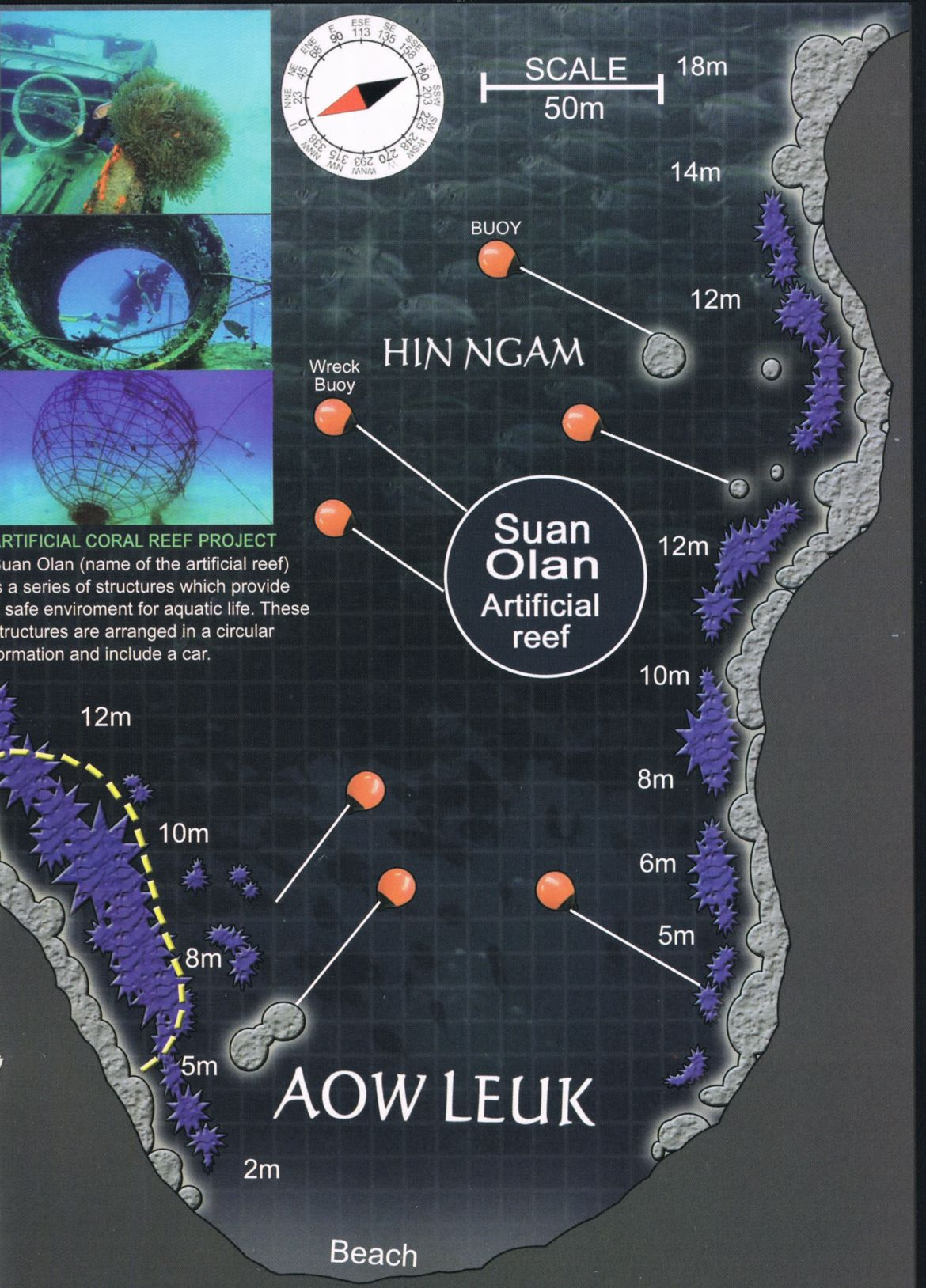 Aow Leuk Map